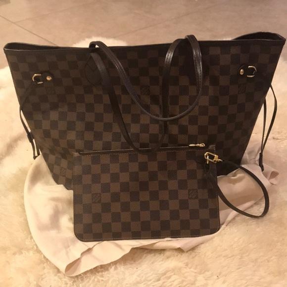 Louis Vuitton Bags   Neverfull Mm Authentic   Poshmark 3c6035bdc6